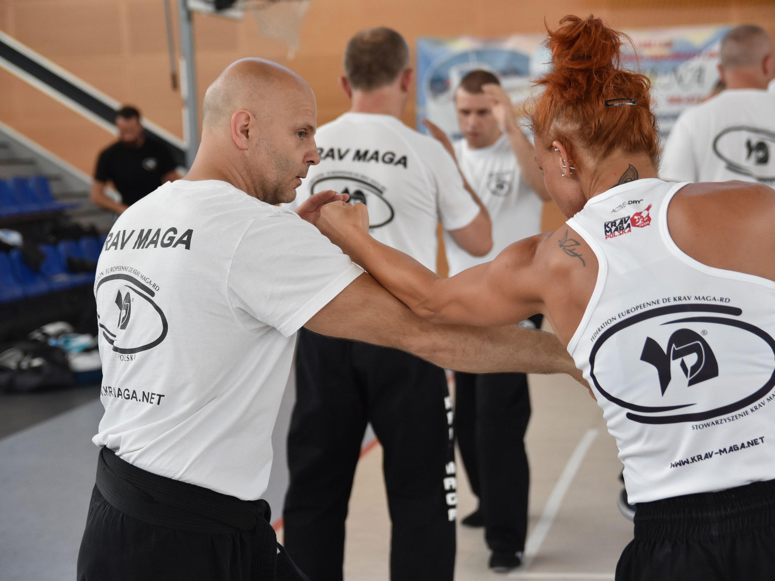 Krav Maga, judo, techniki interwencji Obóz w Mrzeżynie | SKMP