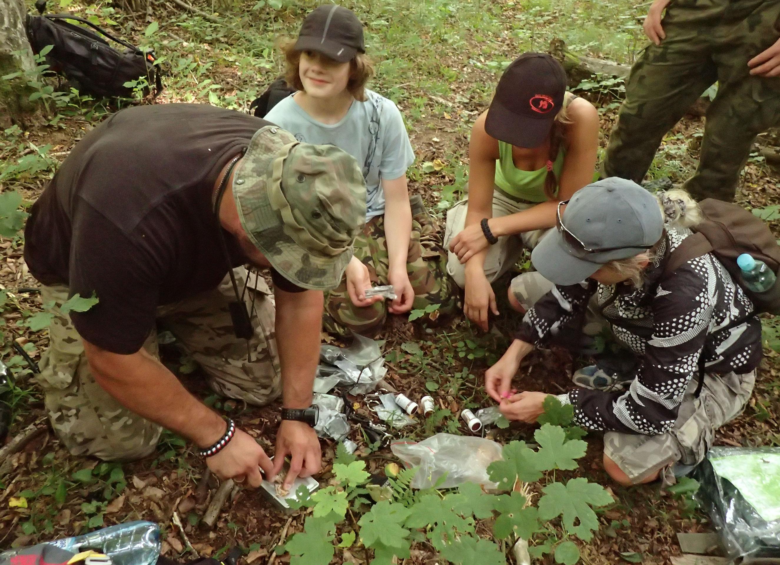 Military Camp Rajskie Bieszczady | SKMP