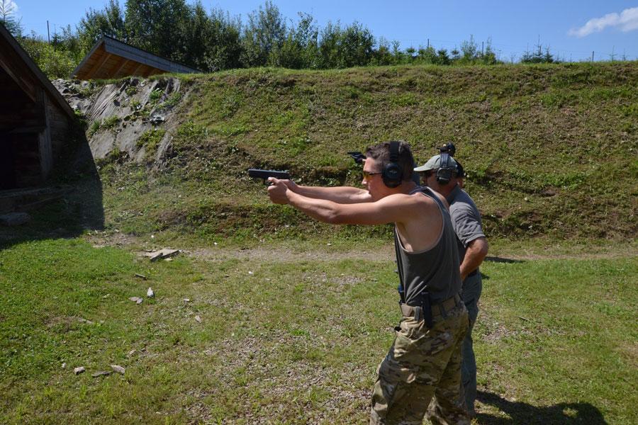 Bieszczadzki Zaciach 2016: strzelanie z broni różnego rodzaju